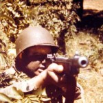 GI Thompson sub-machine gun