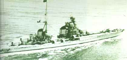 Italian heavy cruiser Zara