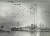 Allied fleet off Tokyo