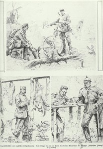 Sketches from the western theater of war