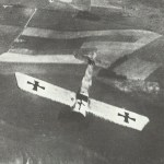 Fokker E monoplane goes into a dive f