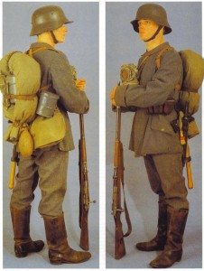 German 1915 field service uniform