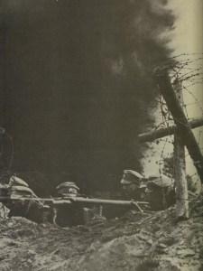 Russian machine-gunners