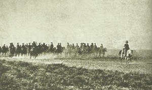 British advance  toward Turkish-held Kut-el-Amara