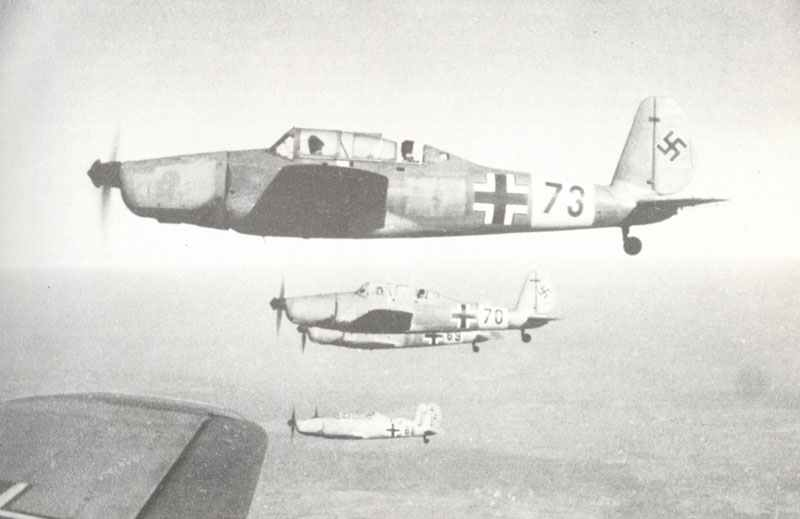 Arado 96 advanced trainers