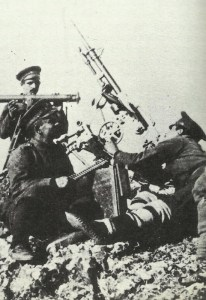 Bulgarian anti-aircraft machine-gun