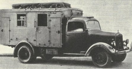 Mercedes-Benz type L 3000 S