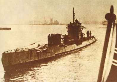 U-boat from Type IX B