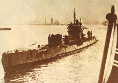 U-boat from Type IX B