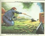 British cigarettes pictures for air raids