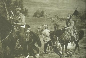 German cavalry at Serbia