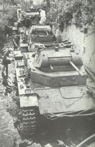 Washing Panzer II