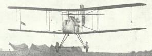 DH2 single-seat 'pusher' biplane
