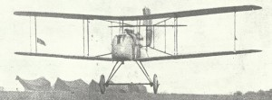 DH2 single-seat 'pusher' biplane