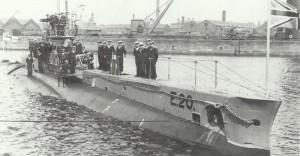 British submarine 'E20'