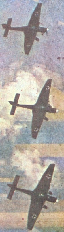 Ju 87's going into the dive