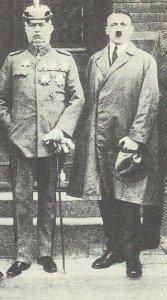 Erich Ludendorff and Adolf Hitler