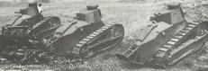 American 6 Ton light tanks