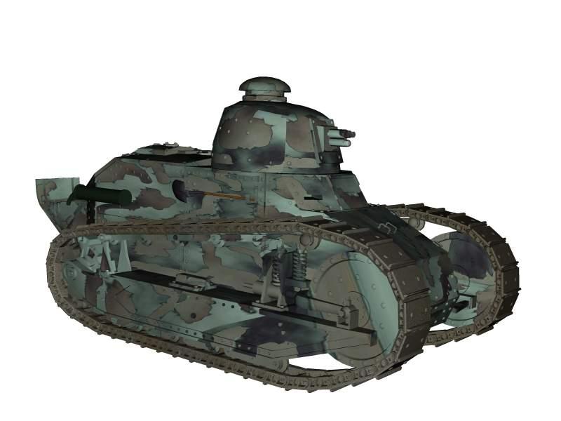3D model of FT-17