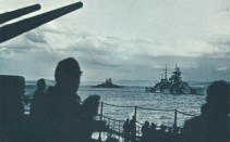 German squadron in Norway