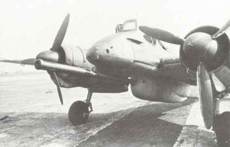 Hs 129B-3/Wa anti-tank aircraft