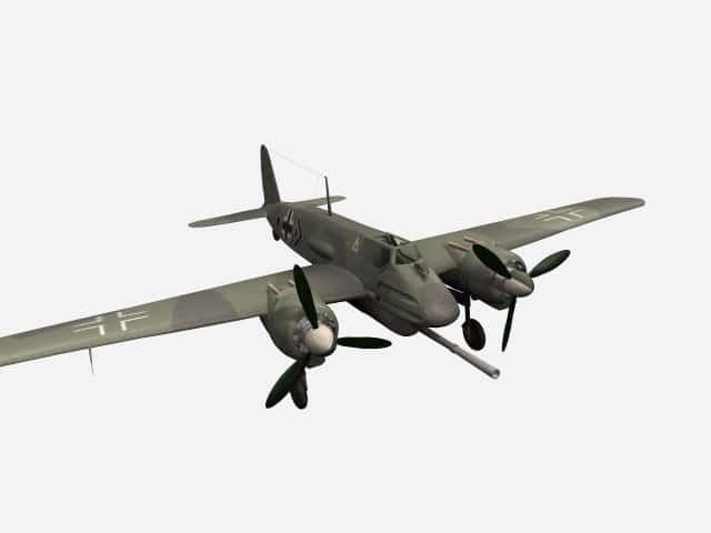3D model Hs 129B-3/Wa