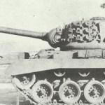 T26E4 with T15E2 gun