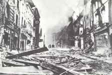London after a fire air raid