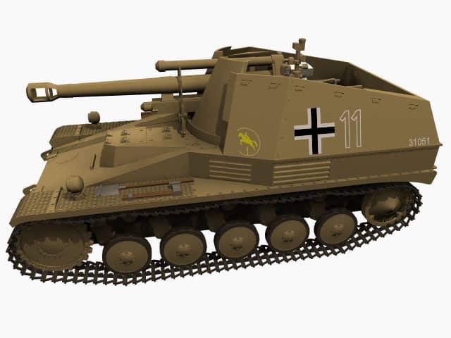3D model Wespe
