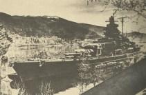 Tirpitz in Norwegian fjord