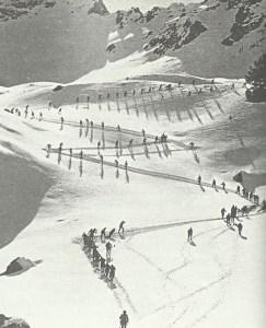 Specialist Italian mountain troops