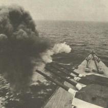 firing a full salvo