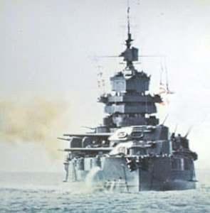 US battleship