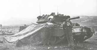 Crusader III with 6-pdr gun from 6th Armoured Division