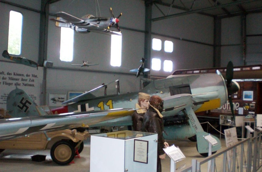 Focke-Wulf Fw 190 A-8 at aircraft museum