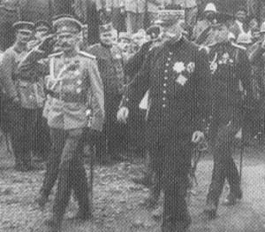 Generals Dietrichs and Sarrail