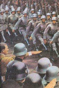German military parade