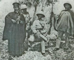 Emperor Haile Selassie back