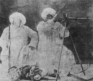 Turkish ski-troops operating as snipers