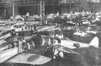 Japanese aircraft plant