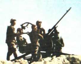 Greek anti-aircraft gun