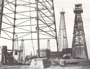 Ploesti oil fields