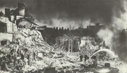 Devastation in London