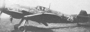 Bf 109 G-6 of the Rumanian Air Force.