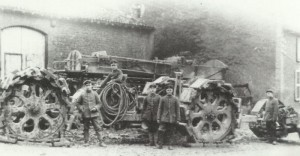 'Big Bertha' in the transport state