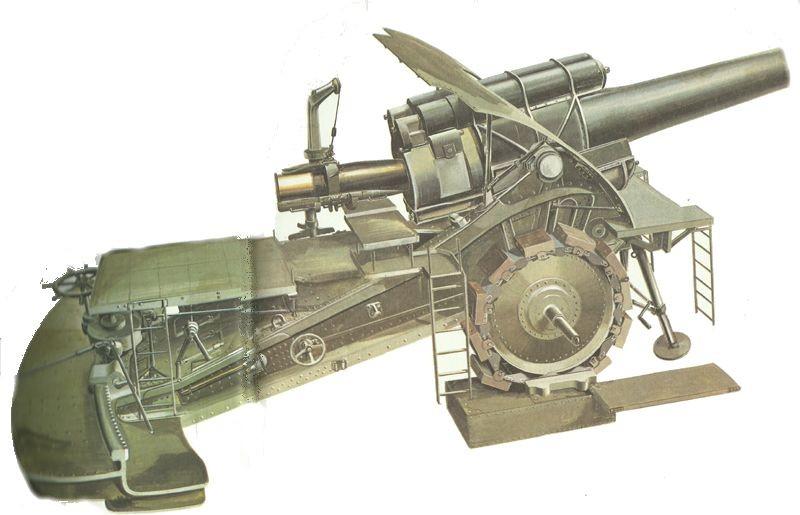 howitzer 'Big Bertha'