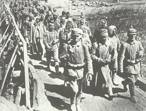 Russian prisoners at the First Battle of Lake Naroch