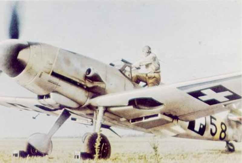 Hungarian Me 109 G-6