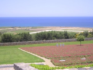 German military cemetery in Crete