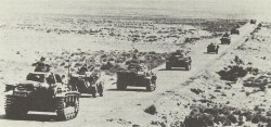 German tanks near Mersa Brega